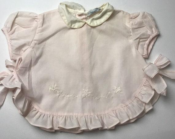 Pinafore 60s top,infant pinafore Nannette dress,Pi