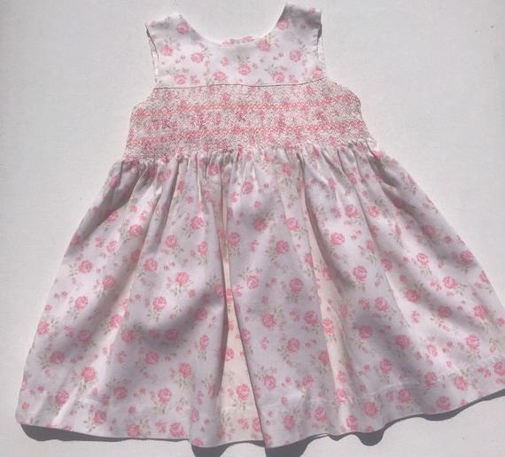 Laura Ashley Smocked Prairie Dress,Toddler dress,