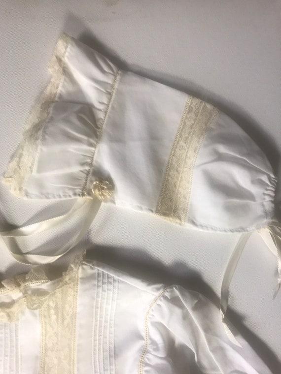 Vintage Custom Victorian Style Dress & Bonnet,Han… - image 10