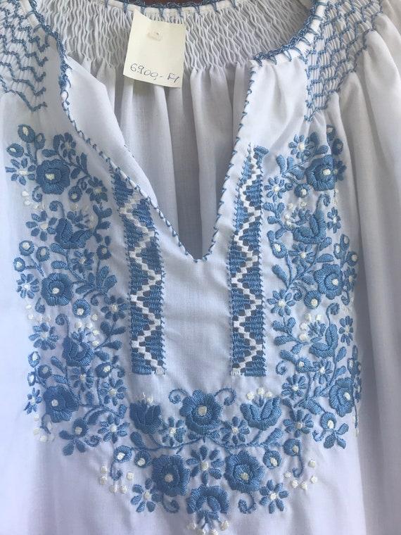 Hungarian Peasant Blouse,Hungarian blouse,hippie,… - image 2