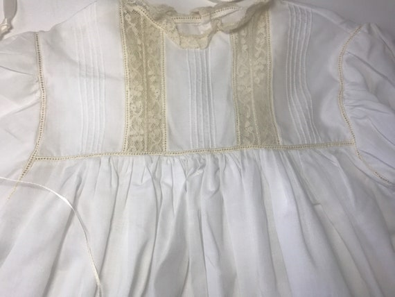 Vintage Custom Victorian Style Dress & Bonnet,Han… - image 7