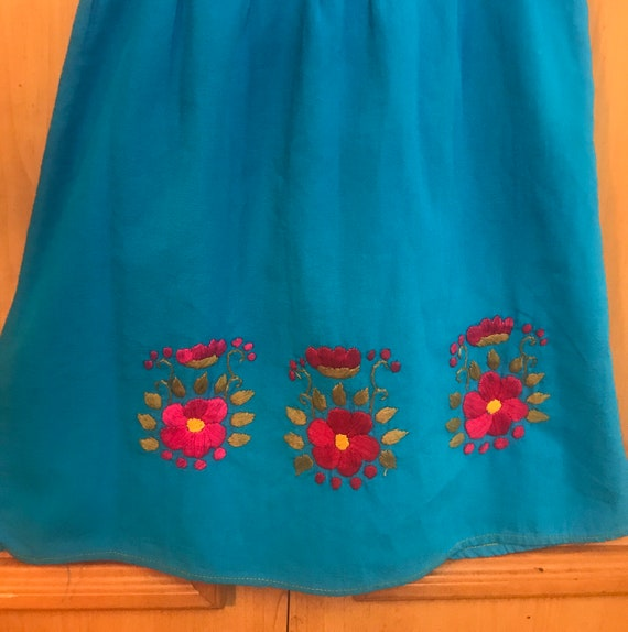 Girls Embroidered Handmade Dress,Embroidered Dres… - image 4