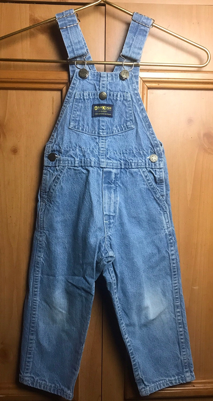 Vintage Oshkosh denim jean overalls vintage jean,vintage overalls Made in USA,vintage denim