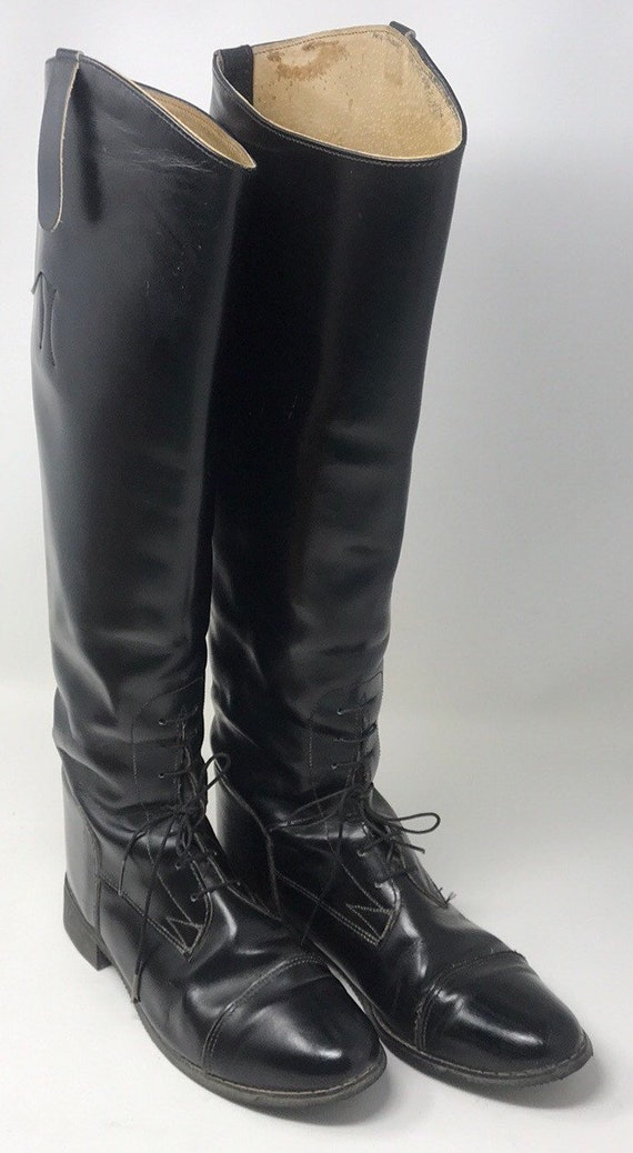 Vintage Equestrian riding boot,Women's equestrian