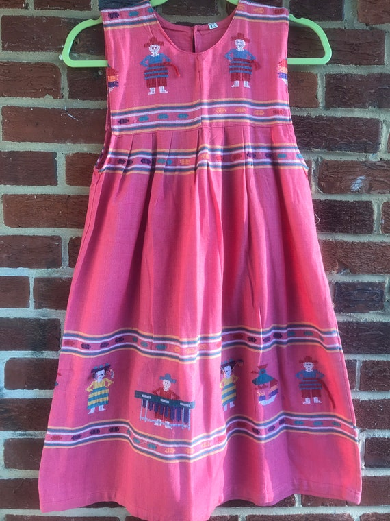 Vintage Embroidered Girls Dress,Vintage girls dre… - image 1