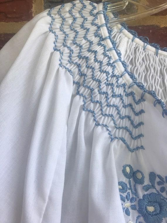 Hungarian Peasant Blouse,Hungarian blouse,hippie,… - image 3