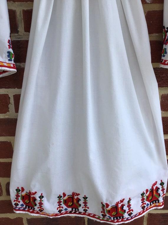 Embroidered Dress,vintage dress,vintage embroider… - image 5