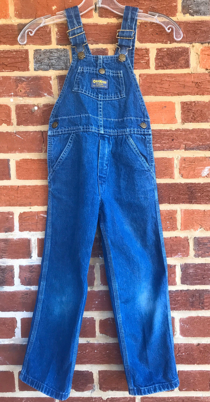 Vintage Overalls & Jumpsuits Oshkoshoveralls, Vintageoshkosh, Made in Usa, Overalls, Vintage Overalls, Kids Jean Denim, Denim $7.00 AT vintagedancer.com