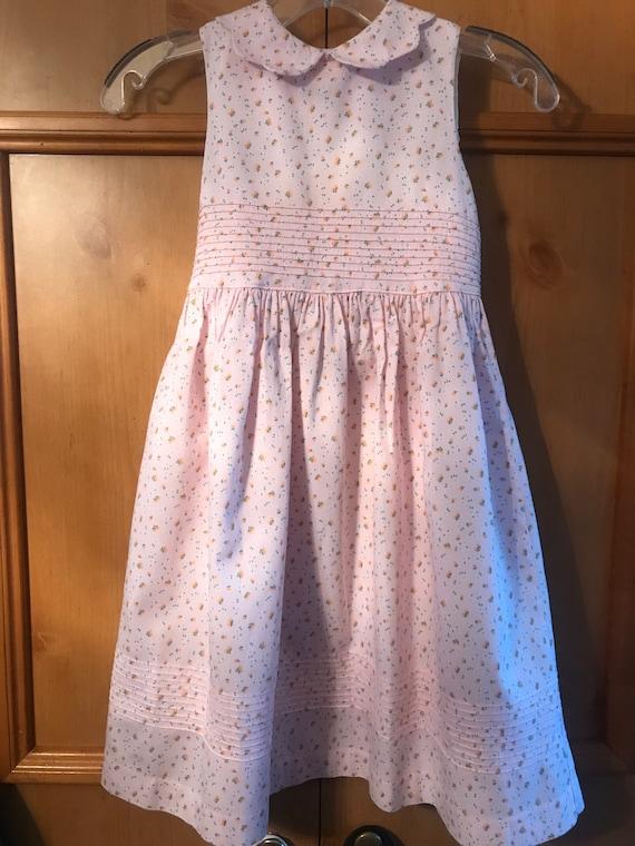 Laura Ashley  floral sz 6x prairie dress,Smocked D