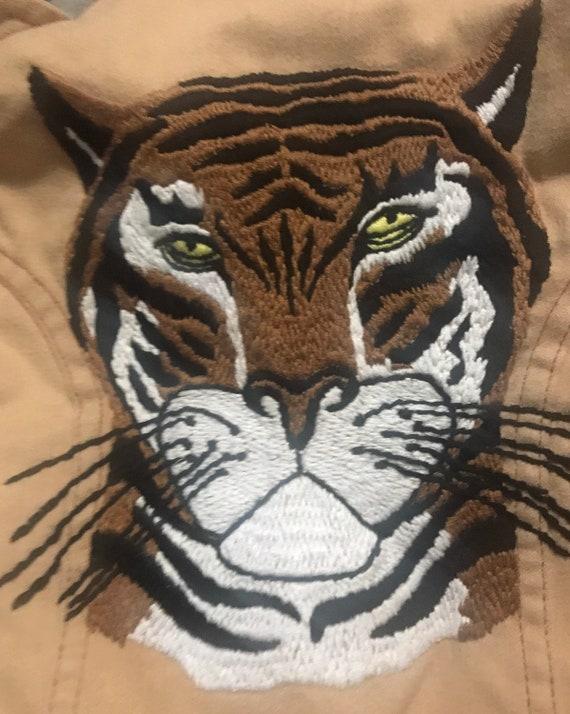 Vintage Embroidered Boys/Toddler Shirt Jacket,Cow… - image 2