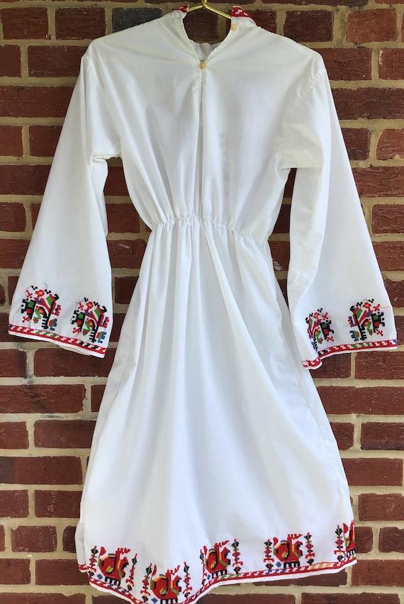 Embroidered Dress,vintage dress,vintage embroider… - image 4