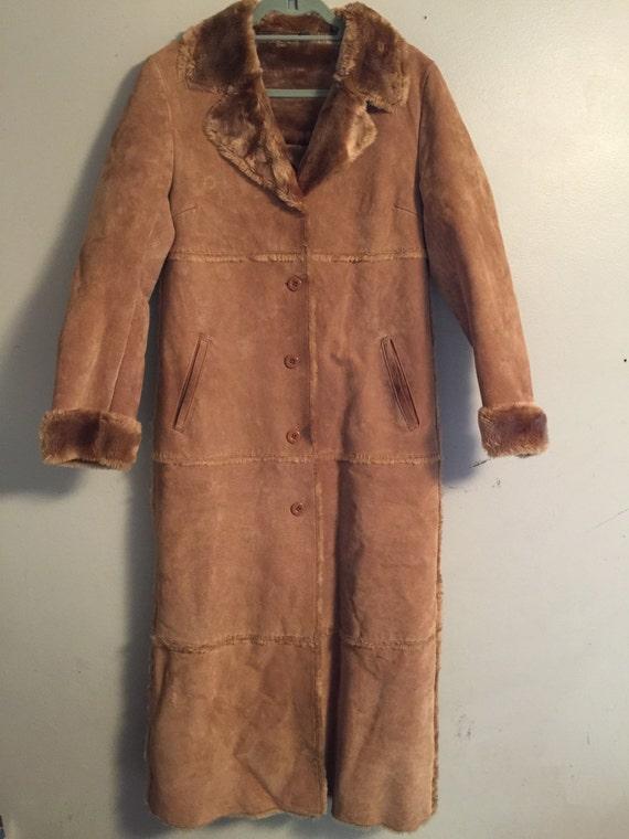 1960's womens bohemian coat, penny lane coat, penn