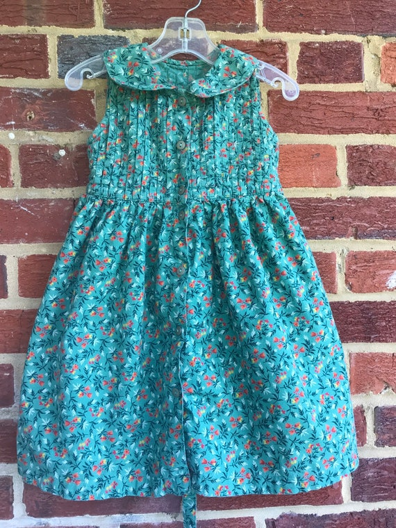 Prairie toddler vintage 18/24 month dress, Country
