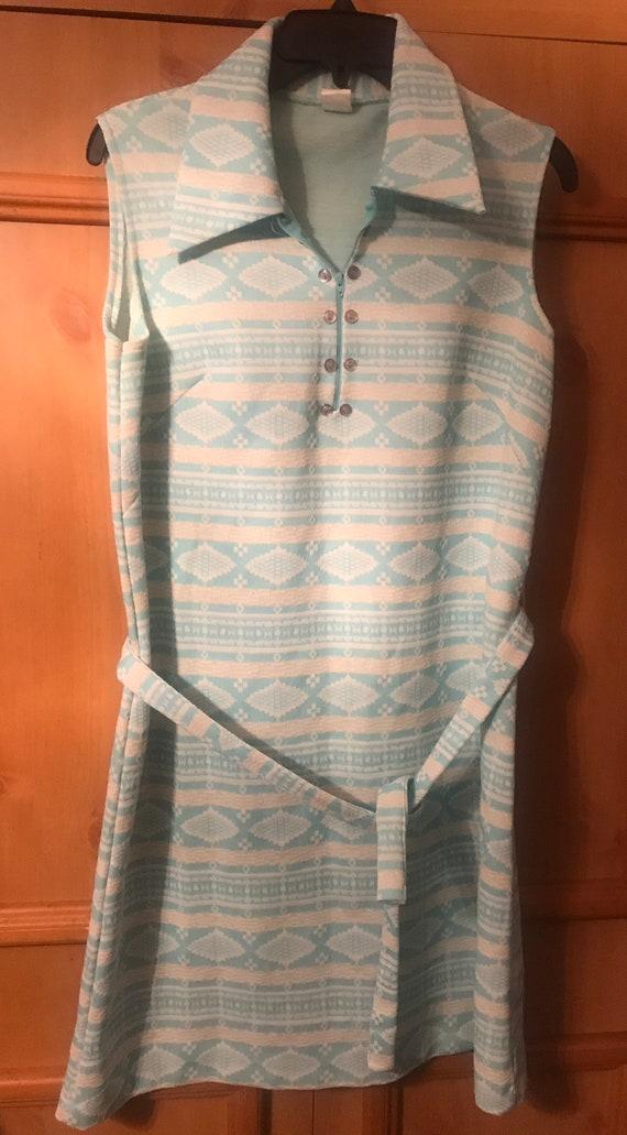 Vintage 60s 70s mod mini dress,Mini dress,retro,Mi