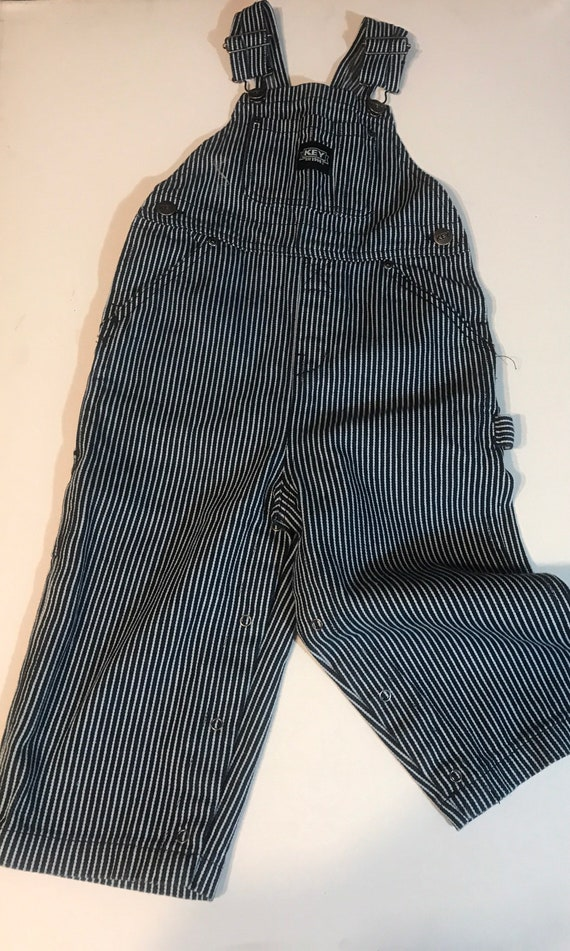 Conductor Overalls,Key Toddler Overalls,Striped ov