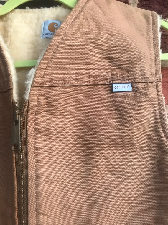 Carhartt,Carhartt vest,union made Carhartt,made i… - image 2