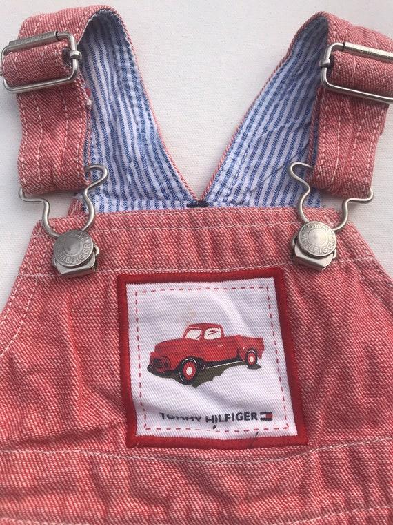 Vintage Tommy Hilfiger baby Infant Shortalls,Shor… - image 2