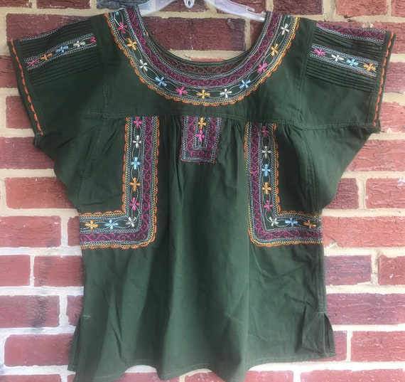 Vintage Embroidered Top,Embroidered top,vintage to