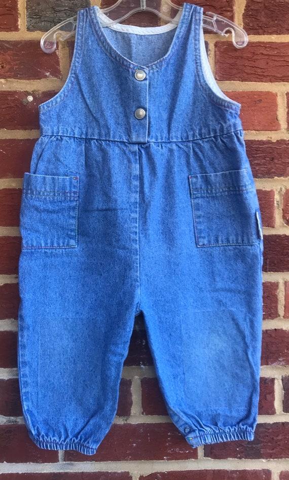 Vintage denim healthtex USA jumper, vintage denim,