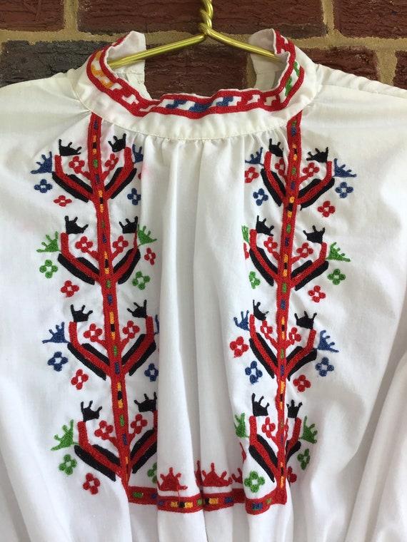 Embroidered Dress,vintage dress,vintage embroider… - image 2