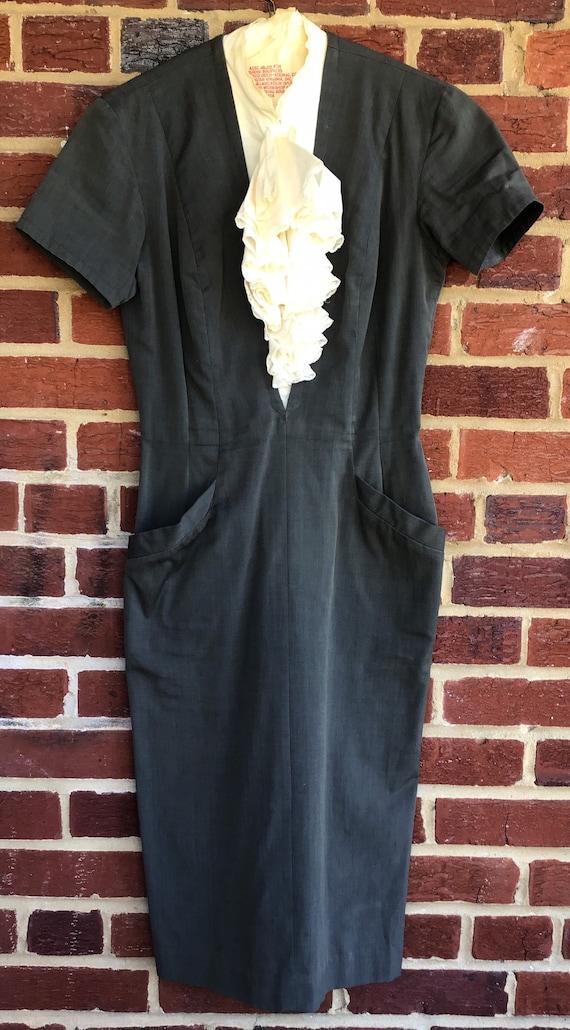 Vintage dress,handmade dress,dress,vintage, 50s, 4