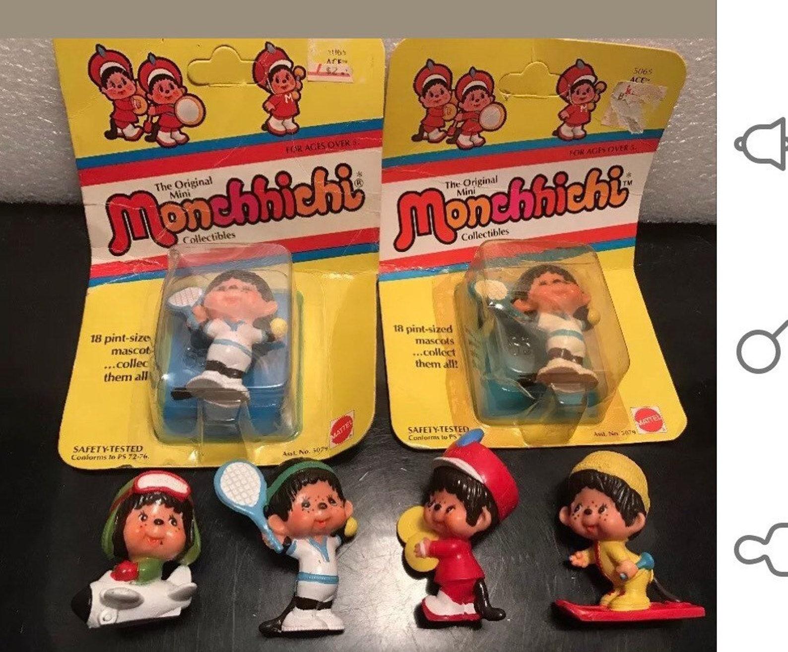 Monchhichi,vintage toys,Vintage Monchhichis ,80s,90s