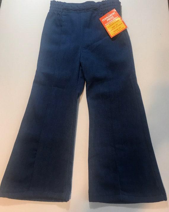 Vintage 70s denim jeans,vintage toddler jeans, Vin
