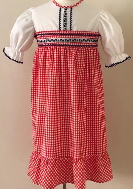 Vintage Girls Maxi Dress,Maxi dress, vintage dress