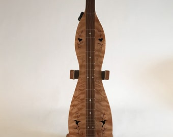 Quilted Maple and Walnut Mountain Dulcimer