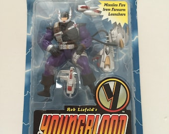 NEW McFarlane Toys Rob Liefelds YoungBlood DUTCH 1995