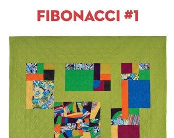 Fibonacci Quilt #1: PDF Pattern
