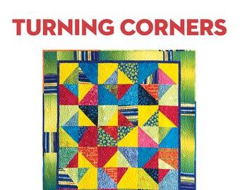 Turning Corners: A Modern Quilt PDF Pattern