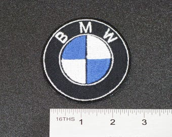 Bmw M Logo Black Badge M Power Car Motorcycle Biker Racing Patch