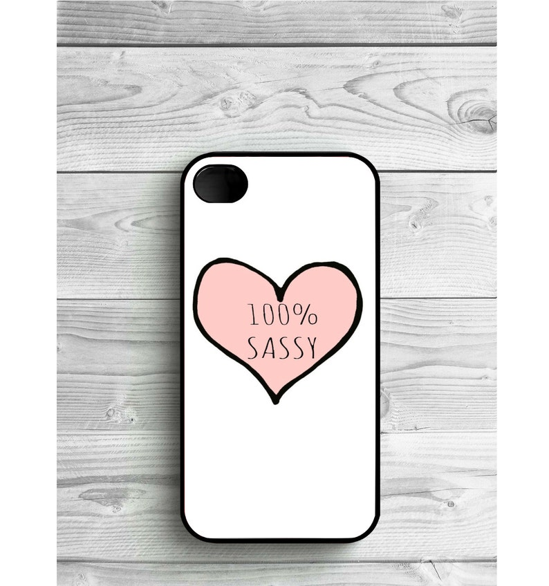 best website 1fc6e 7254a Phone Case 100% Sassy Tumblr For iPhone 4/4S, iPhone 5/5S, iPhone 5c,  iPhone 6, iPhone 7, Galaxy S4, S5, S6, S6 EDGE, Note 3 & Note 4