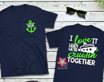 d89c4eb2 Cruisin' Together Super Soft Vacation Shirt   Family Cruise Shirts    Vacation shirts   Spring Break Cruise   Cruise Shirts for Family