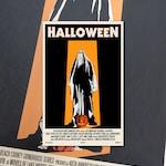 "Halloween 11""x17"" Movie Poster Art Print Shockarama Horror Film Screening 1978 John Carpenter Michael Myers Slasher"