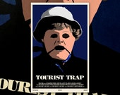 "Tourist Trap 11""x17"" Movie Poster Art Print Shockarama Horror Film Screening Slasher 70's Chuck Connors Slausen Mannequin Doll Scary Mask"
