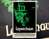 "Leprechaun 11""x17"" Movie Poster Art Print Shockarama Horror Film Screening Warwick Davis St Patrick's Day"