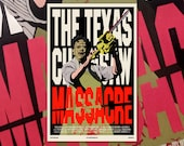 "Texas Chainsaw Massacre 11""x17"" Movie Poster Art Print Shockarama Horror Film Screening Slasher Leatherface Chain Saw Cannibal Tobe Hooper"