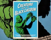 "Creature from the Black Lagoon 11""x17"" Movie Poster Art Print Shockarama Horror Film Screening Universal Monsters Gill-man Gillman"