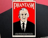 "Phantasm 11""x17"" Movie Poster Art Print Shockarama Horror Film Screening Don Coscarelli Angus Scrimm Tall Man"