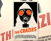 "The Crazies 11""x17"" Movie Poster Art Print Shockarama Horror Film Screening George Romero Grindhouse Cult"
