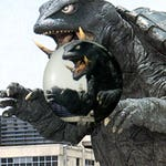 "S008 Gamera 1"" Pinback Button Pin Cult Classic Sci-Fi Cinema Film Movie Kaiju Japan Japanese Godzilla Turtle"