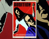 "Audition 11""x17"" Movie Poster Art Print Shockarama Horror Film Screening Takashi Miike Japan J-Horror Asia"