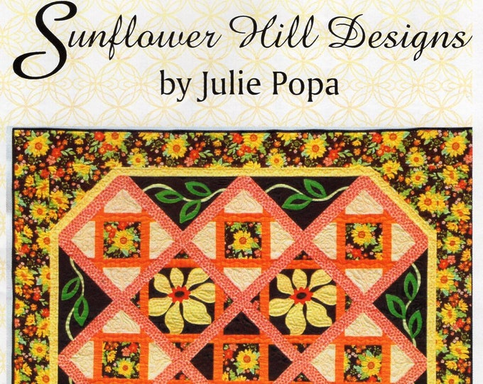 Free Usa Shipping Quilt Craft Sewing Pattern Sunflower Hill Designs Julie Popa Pathways shd927 2009