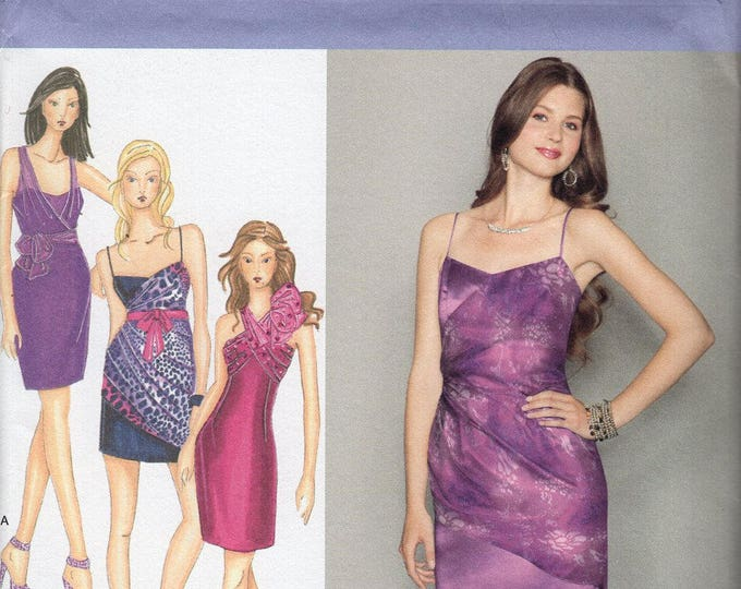 FREE US SHIP Simplicity 2251 Laura Lynn Collection Prom Evening Length Dress Cocktail Size 12 14 16 18 20 Bust 34-42 Uncut Sewing Pattern