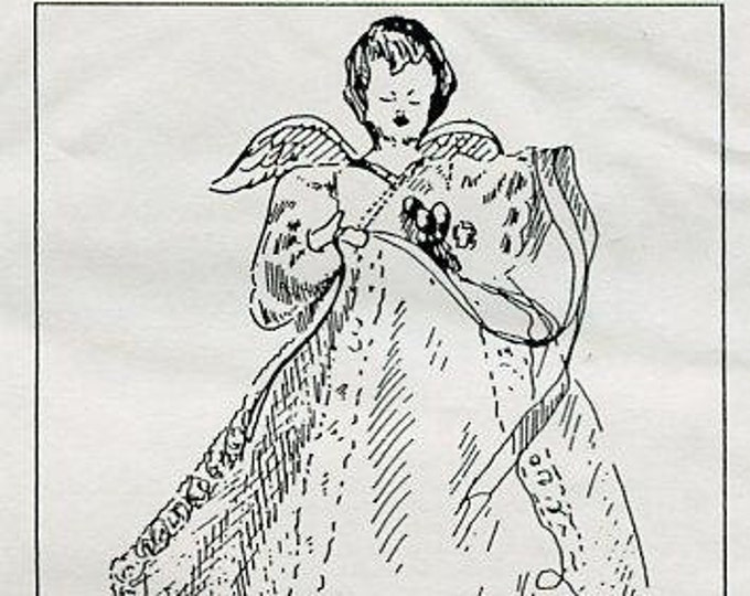 FREE usa SHIP Bell Ceramics Angel Ornaments for Molds RP2575 1980's Christmas  Craft Out of Print Old Store Stock Sewing Pattern
