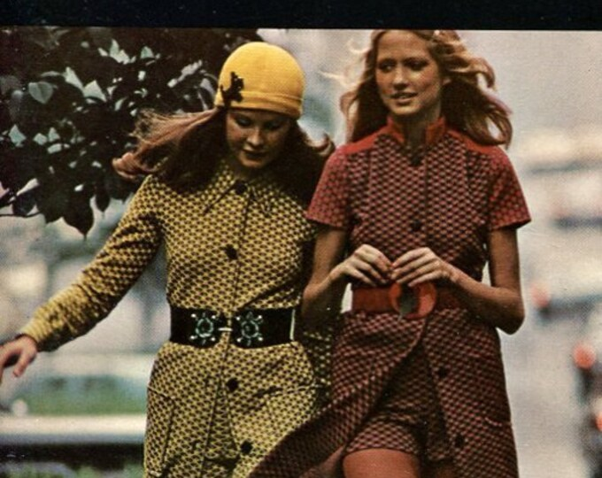 FREE US SHIP Vogue Book Everything about Sewing Knits Vintage Retro 1970's 70's 1972 Sewing Pattern Booklet