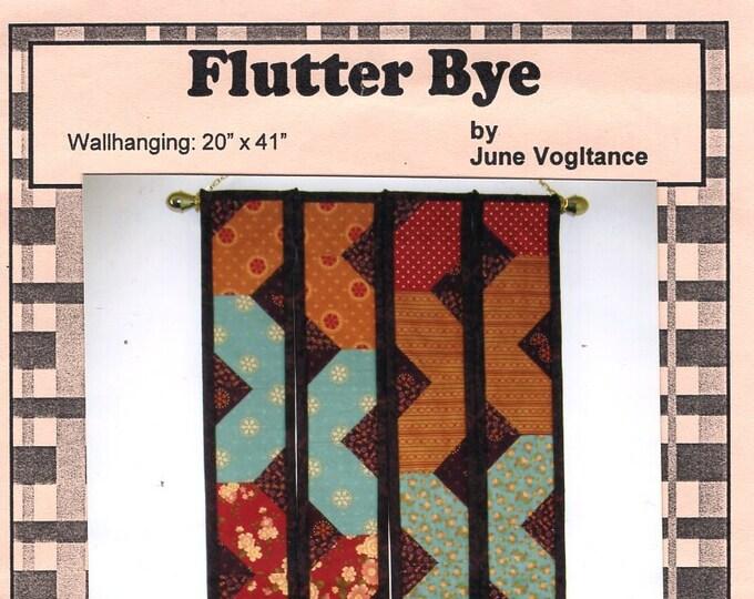 Vogies Patterns Flutter Bye Designer June Vogitance Tassel Chevron Wall Hanging  Free Us Ship Quilt Craft Sewing Pattern