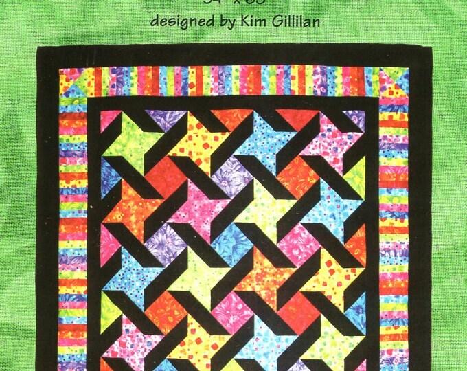 Sugar Pine Designs Designer Kim Gillian KG2009 Fat Quarters Free Us Ship Quilt Craft Sewing Pattern